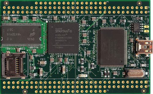 Fig. 4: ZTEX USB FPGAmodule