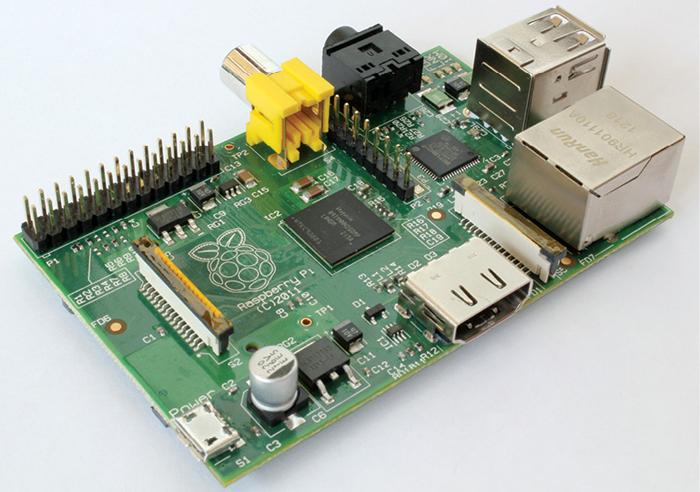 Fig. 2: Raspberry Pi