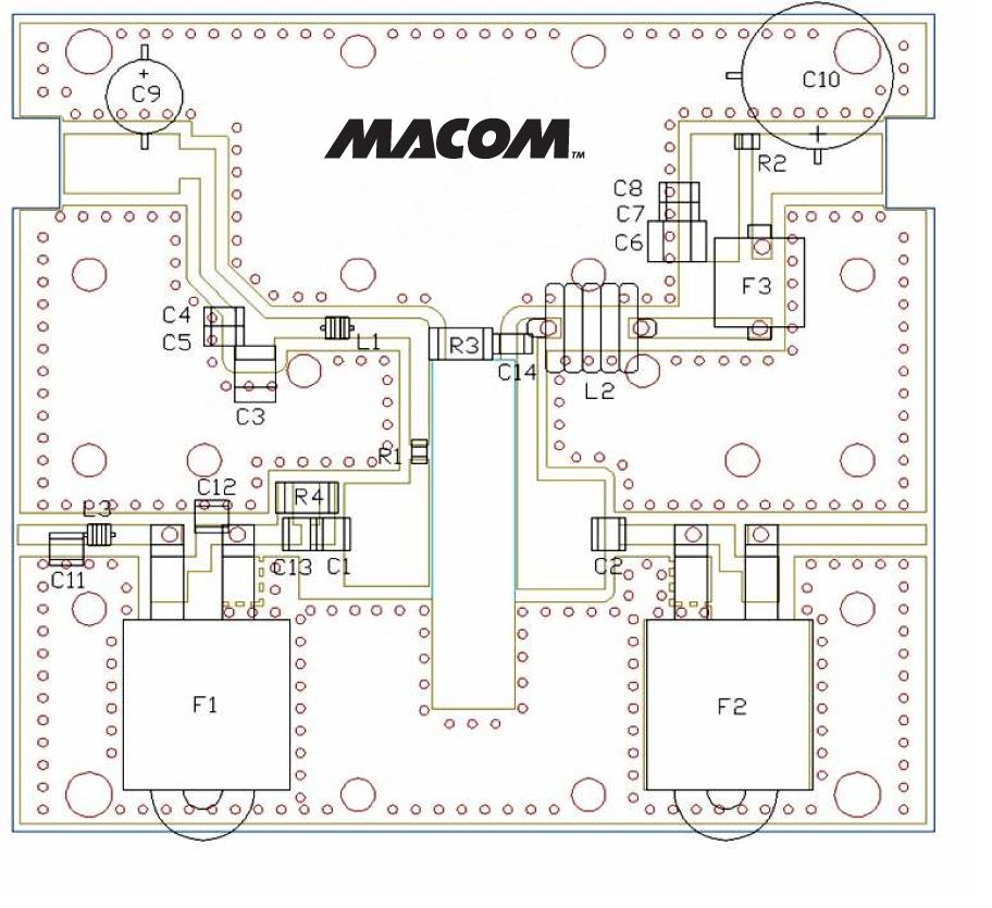 Figure 4. 30-512 MHz, 100 Watt GaN Amplifier