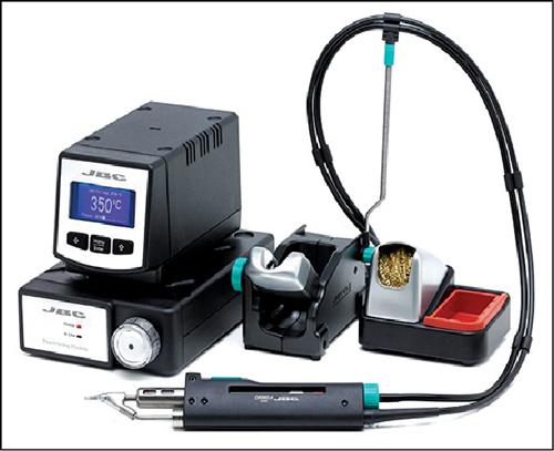 Fig. 3: A vacuum pump-type de-soldering station