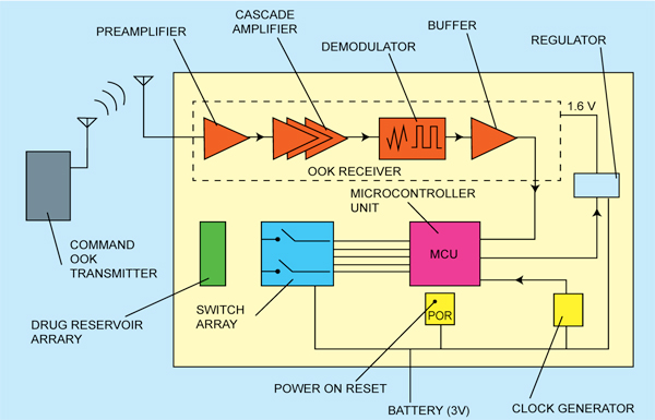 Fig. 2: Block diagram of SoC