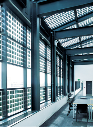 Building-integrated photovoltaics are literally part of the structure of a building