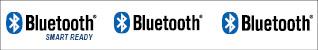 Fig. 1: Bluetooth Smart Ready,Bluetooth and Bluetooth Smart logos
