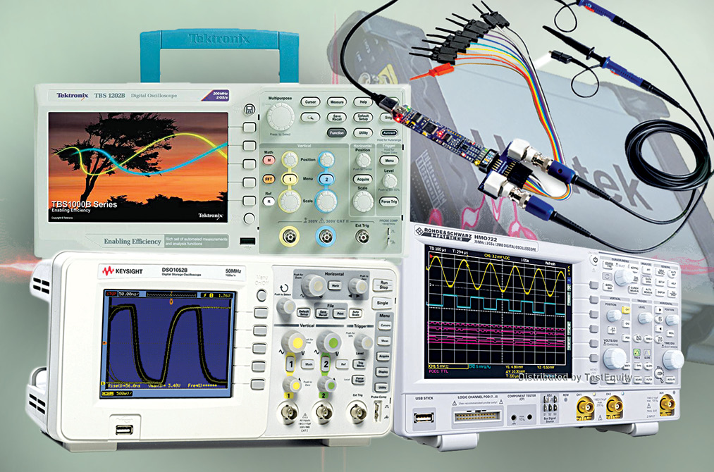 Some pocket-friendly oscilloscopes currently available in the market