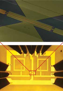 IBM's recently announced first integrated circuit fabricated from wafer-size graphene