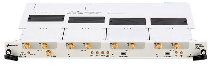 Keysight M9703A AXIe 12-bit digitizer module