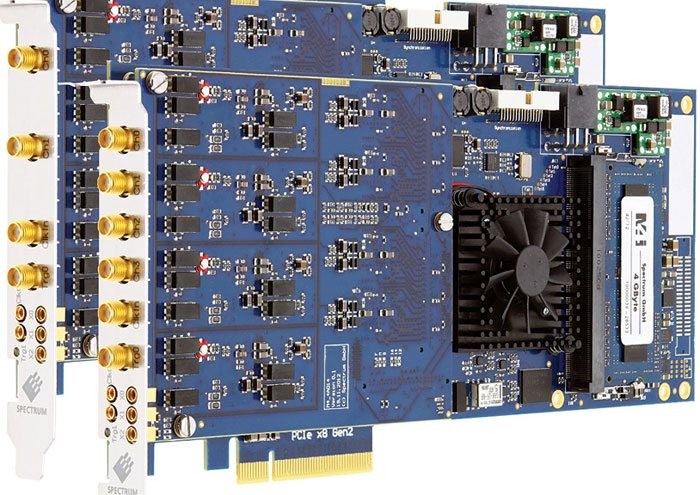 Spectrum M4i.44xx series PCIe digitizer cards