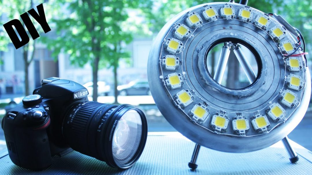 How To - Make 200W Ring-light | Electronics For You