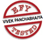 Vivek Panchabhaiya EFY tested