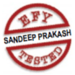 sandeep prakash EFY tested