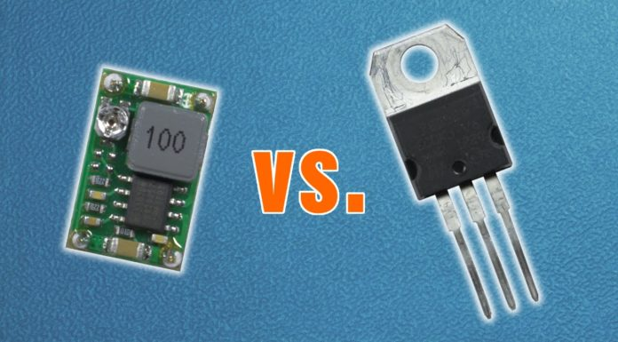 how to use a linear voltage regulator