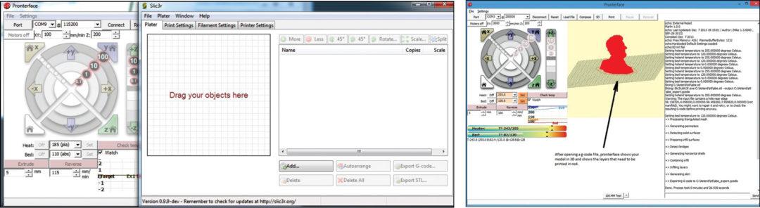 22: Loading G-code file