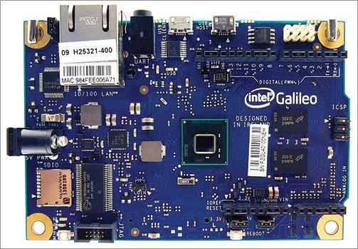 Fig. 1: Intel Galileo board