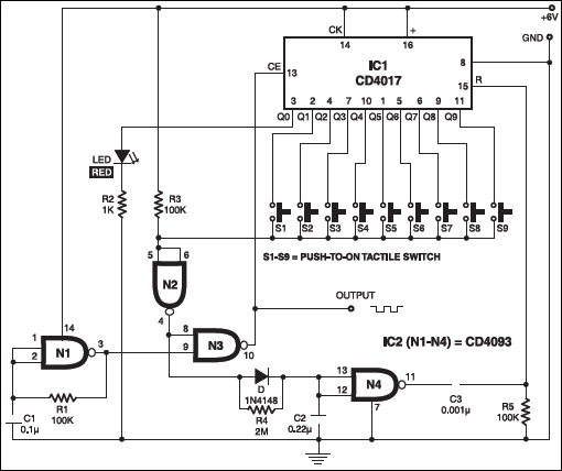 Pulse generator detailed circuit diagram available pulse generator circuit swarovskicordoba Choice Image