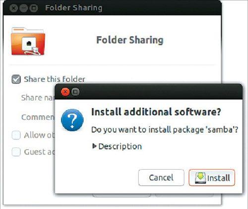 Fig. 2: Install Samba