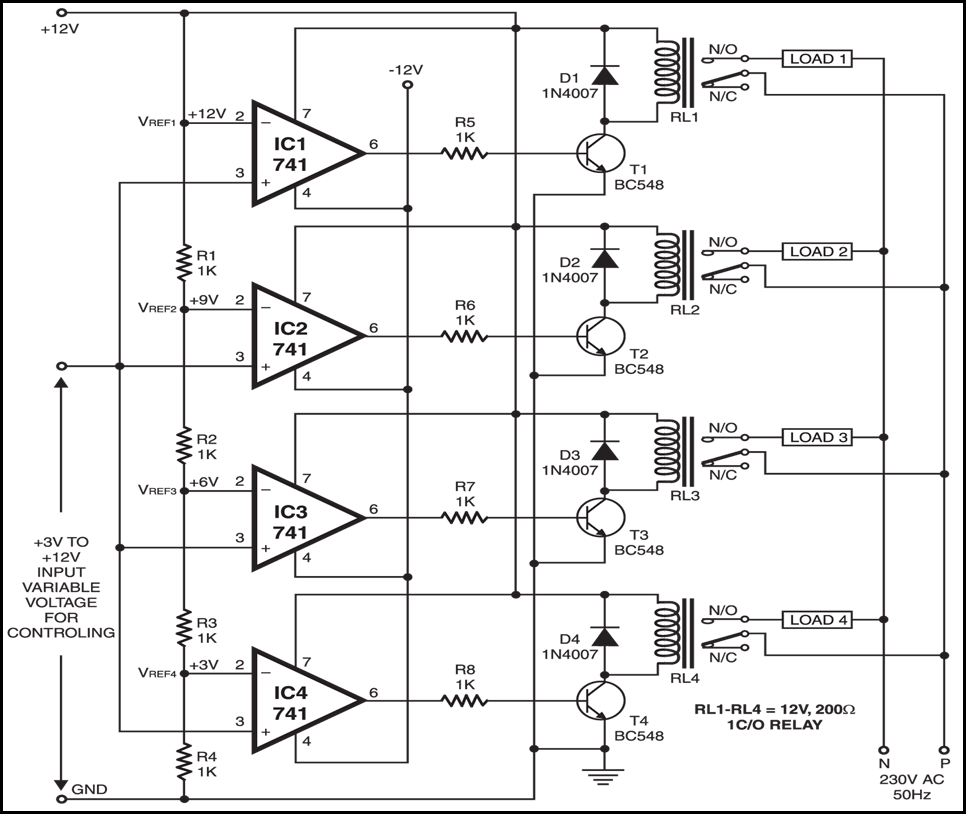 Voltage Based Controller Circuit