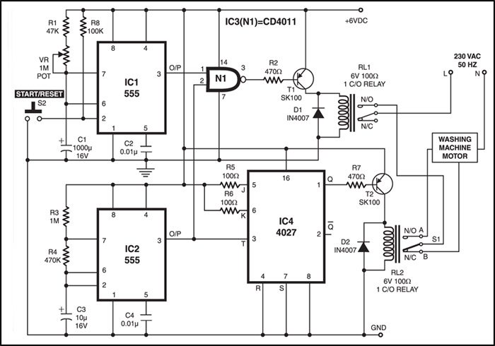 Washing Machine Motor Controller | Full Project Available