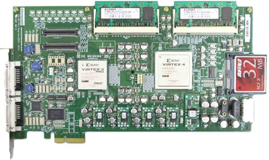 PCI-Express2DVI is a multipurpose evaluation board for PCI Express and DVI iapplications