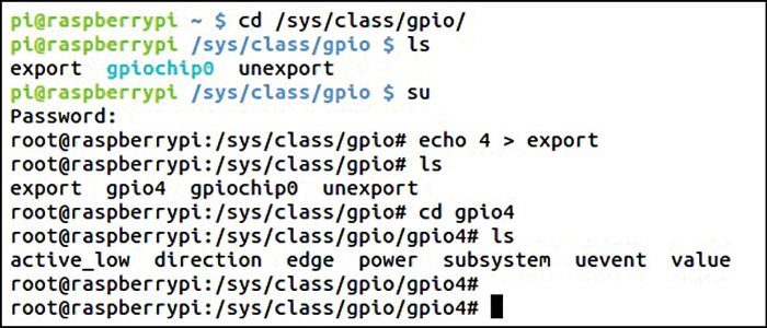 Accessing GPIOs using SYSfs interface of Linux | Electronics For You