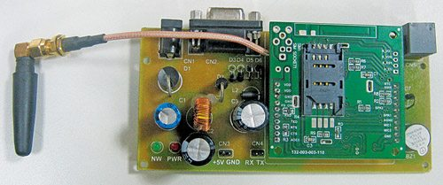 GSM & GPS Based Vehicle Tracking System | Circuit with