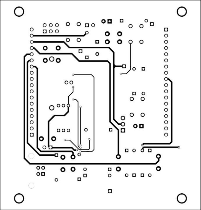 Fig. 4: Component-side track layout