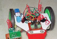Wireless gesture controlled robot