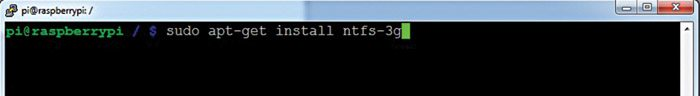 Fig. 1: Add NTFS support