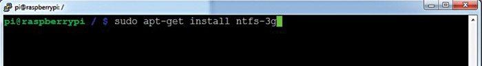 Fig. 1: Add NTFS support