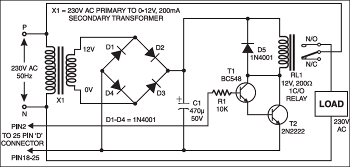 computerized universal timer Circuit