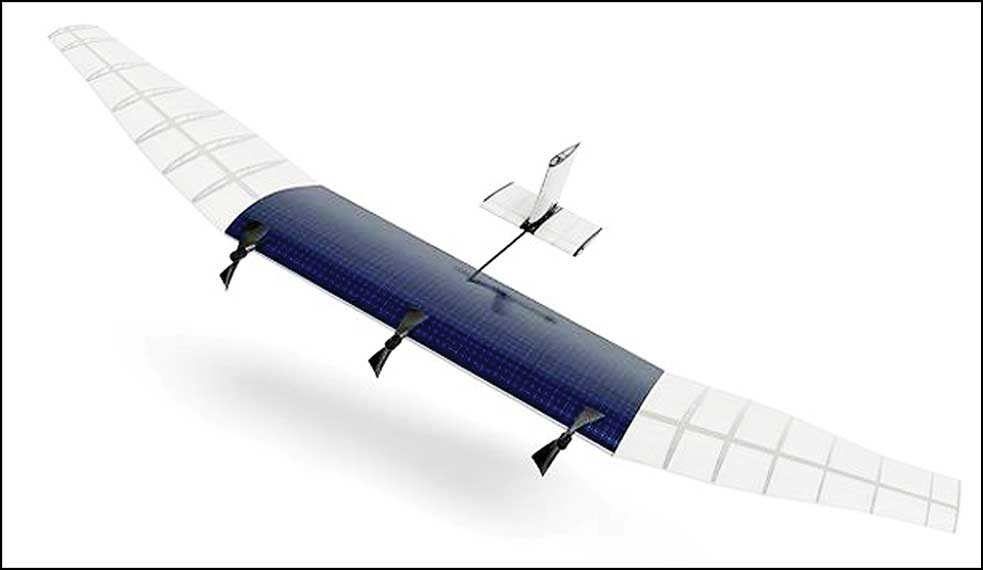 Facebook's solar-powered drone to provide Internet connectivity(Image courtesy: economictimes.indiatimes.com)