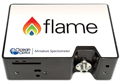 Fig. 1: Ocean Optics' flame spectrometer