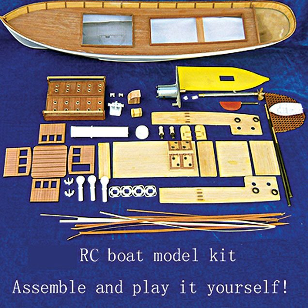 Basic guide to radio controlled boat modelling electronics for you 7 diy kit for an rc boat model solutioingenieria Images