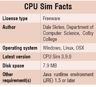CPU_Sim_Facts