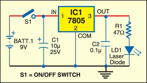 Fig. 1: Transmitter circuit