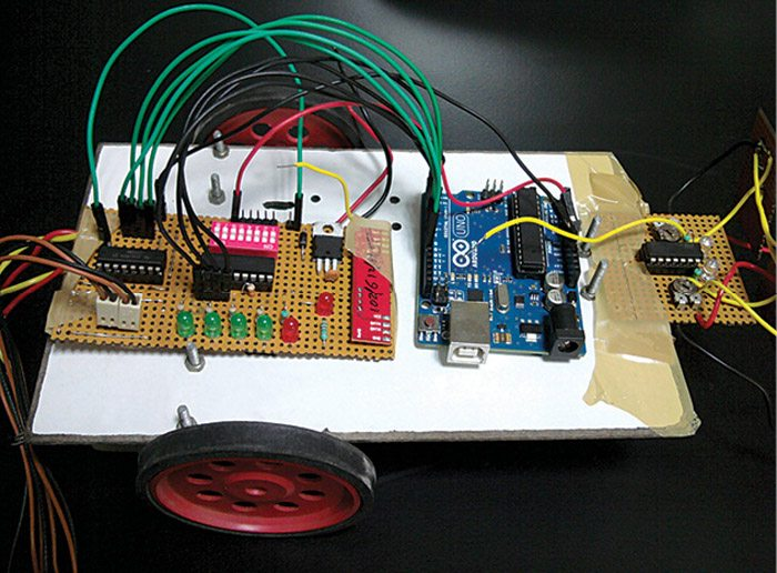 Arduino Based RF Controlled Robot   Full Project with Source Code