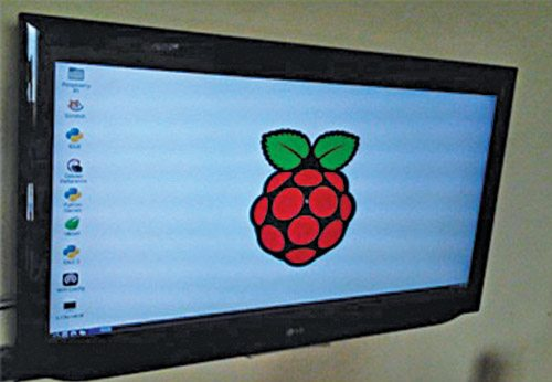Fig. 2: Raspberry Pi desktop screen