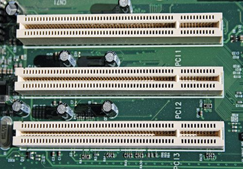 Fig. 2: PCI slots in your computer