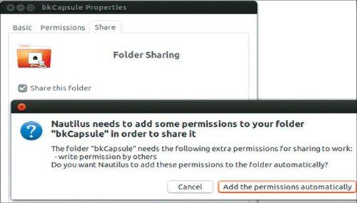 Fig. 3: Add permissions