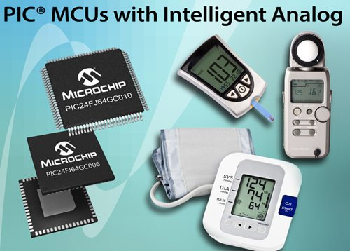 A First-Of-Its-Kind PIC Microcontroller That Integrates 16