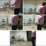 colour sensing robot