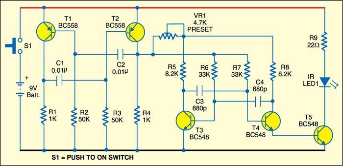 Fig. 1: Transmitter circuit