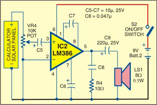 Fig. 2: Receiver circuit