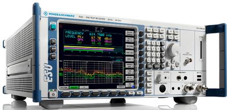 EMI test receiver from Rohde & Schwarz