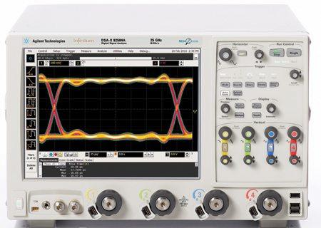 DSA-X 92504A digital signal analyser by Agilent Technologies