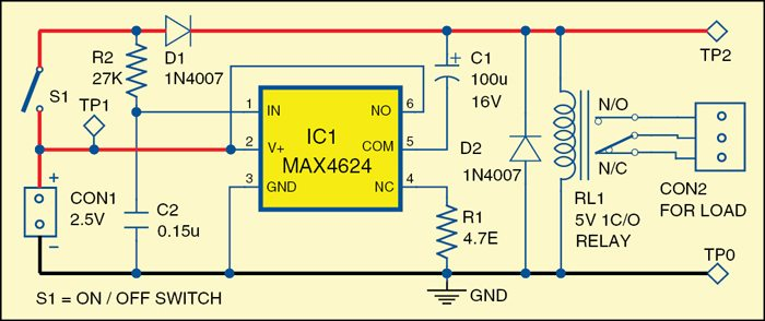 Efficient 5v relay driver electronics for you 1 circuit diagram of the efficient 5v relay driver a4efig2 ccuart Images