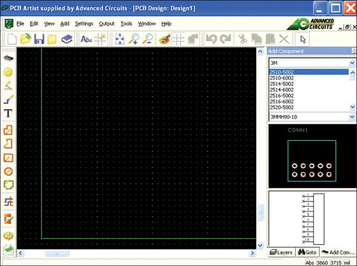 PCB Artist, a Simple PCB Layout Tool for Beginners | Electronics For You