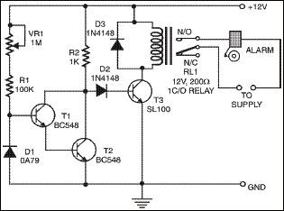 SENSITIVE TEMPERATURE SWITCH | Electronics For You