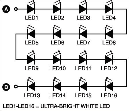 Fig.2: 16-LED combination
