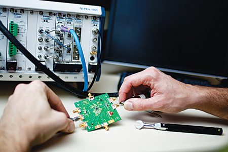 RF designers require custom measurements of the device under test