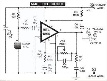simple intercom circuit detailed circuit diagram available rh electronicsforu com simple intercom wiring diagram